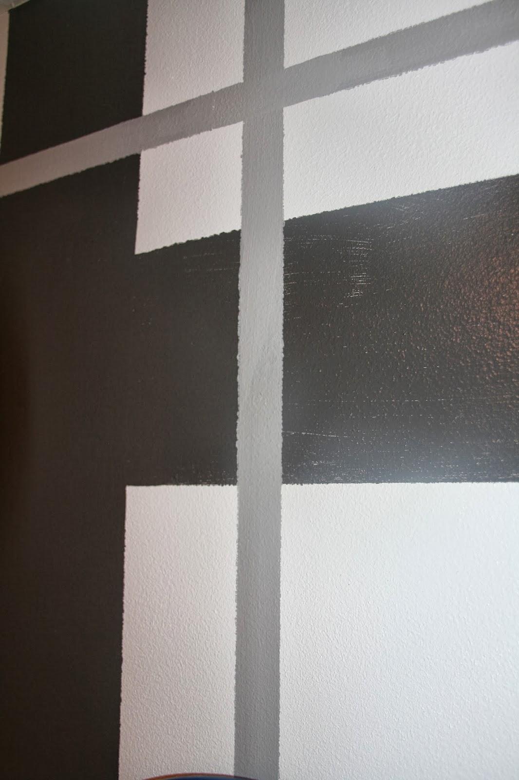 Retropolitan Plaid Quot Painted Quot Accent Wall