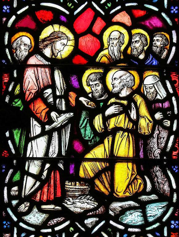 Multiplicação dos pães e peixes, catedral de Greensburg, Kansas