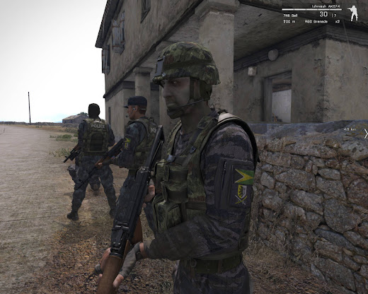 Arma3用Altis警察ユニット アドオン