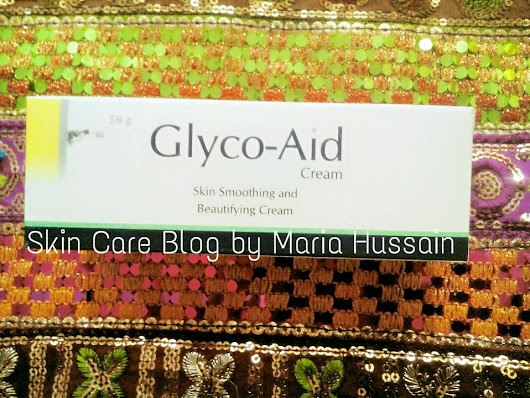 Glyco-Aid Cream-Review ~ Skin Care Blog by Maria Hussain