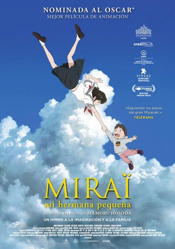 Mirai - A contracorriente Films - poster
