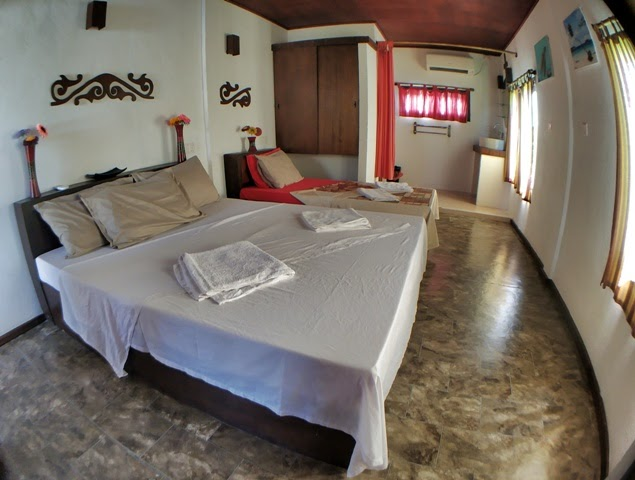 Nuestra habitacion en The Home Maldives