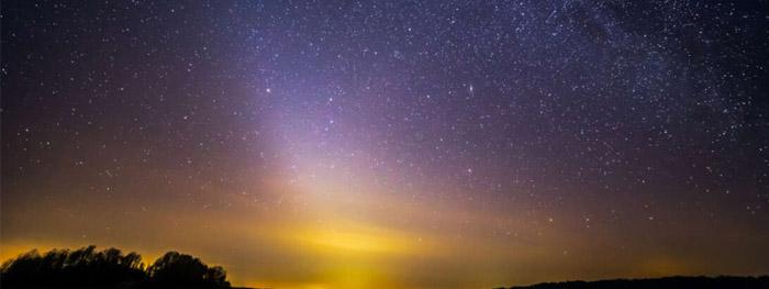 Poeira de Marte pode explicar a Luz Zodiacal