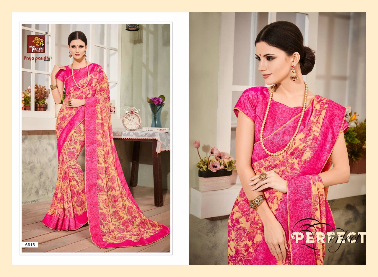 PARI VOL 2 – New Arrival Designer Georgette Saree