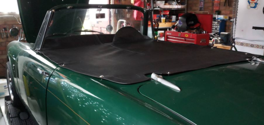 Sunbeam Alpine Series 3 conversion to V6 2.8 on