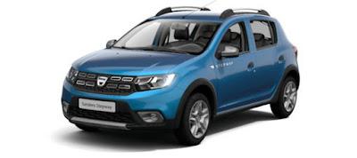 la Dacia Sandero, il cui prezzo di listino parte da 7.450 euro