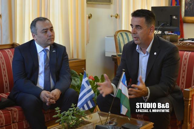 Δ. Κωστούρος: Ο Δήμος Ναυπλιέων ανοίγει τα φτερά του στο Ουζμπεκιστάν (βίντεο)