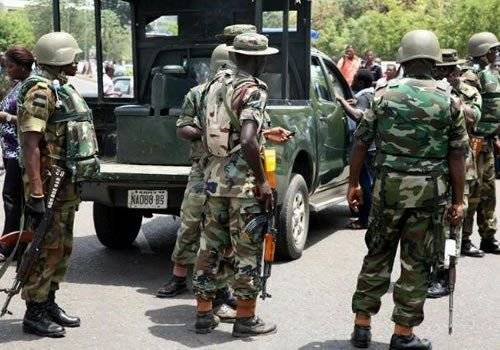 Panic In Warri As Nigerian Army Personnel Threaten To Rape, Infect Women With HIV After Death Of Colleague