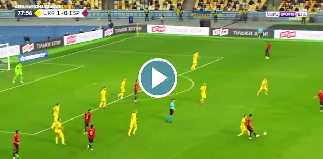 Ukraine vs Spain Live Score