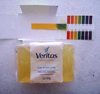 pH Jabon de Glicerina Veritas