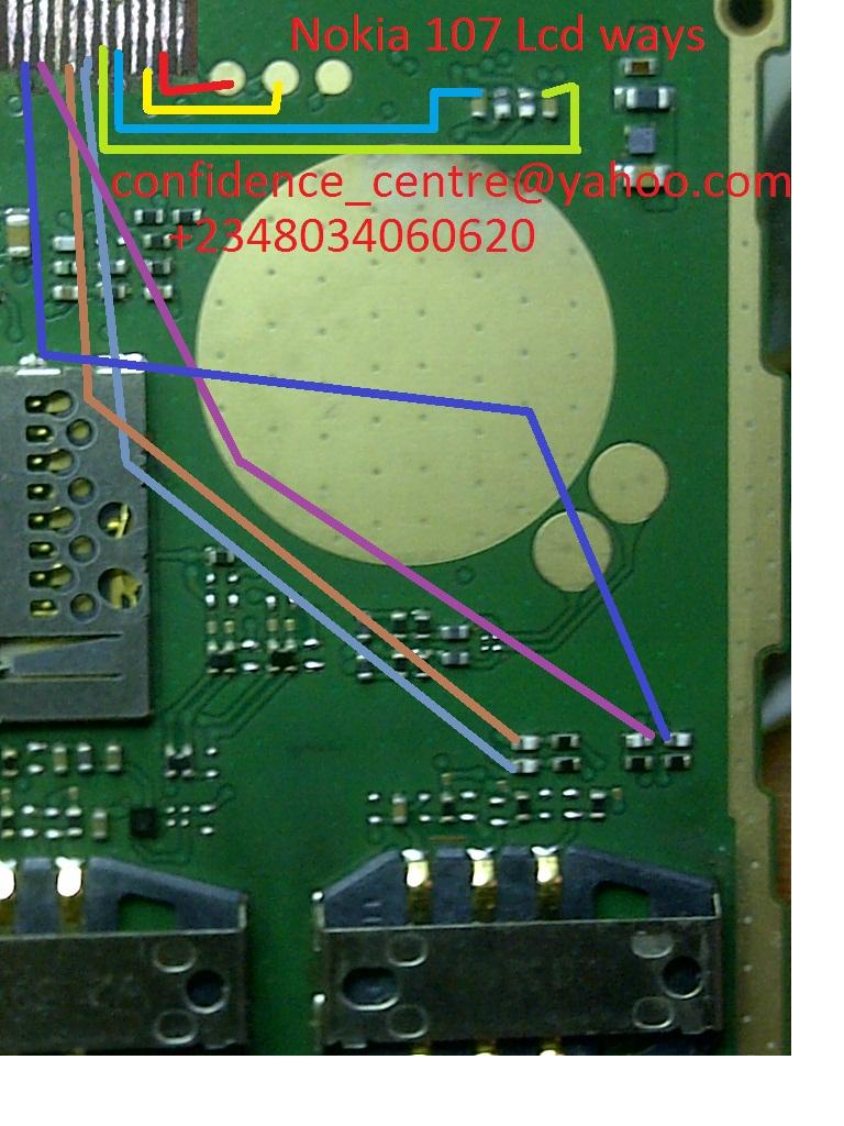 Nokia 107 Lcd Jumper 100% solve