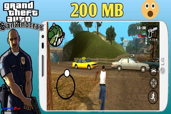 تحميل وتثبيت لعبة GTA SA Apk Lite للاندرويد برابط مباشر و بحجم صغير جدًا 200mb