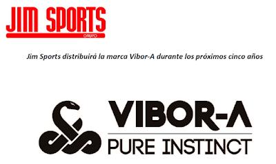 Jim Sports distribuirá la marca Vibor-A durante los próximos cinco años.