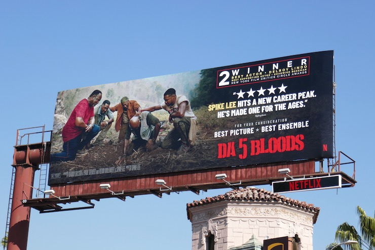 Da 5 Bloods Netflix FYC billboard