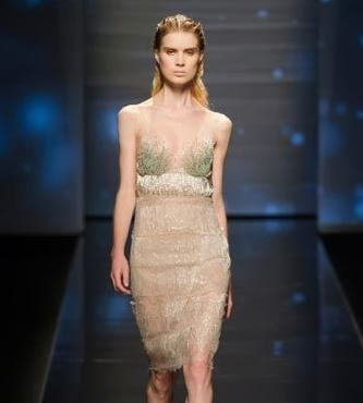 Latest American Fashion Show Transparent Dress collection