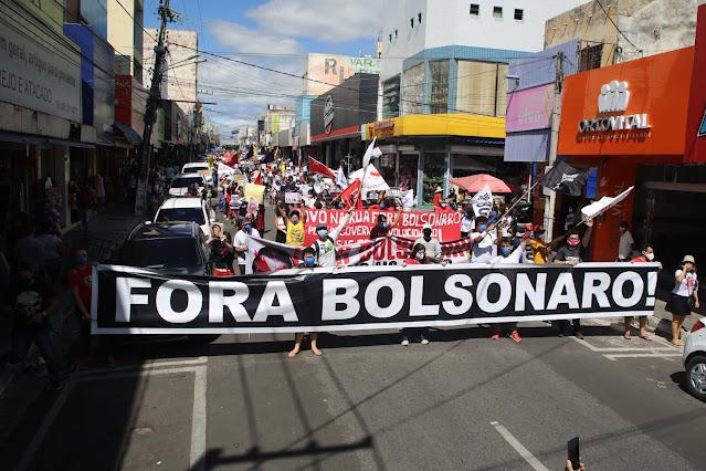 Juazeiro do Norte receberá mais um ato Fora Bolsonaro