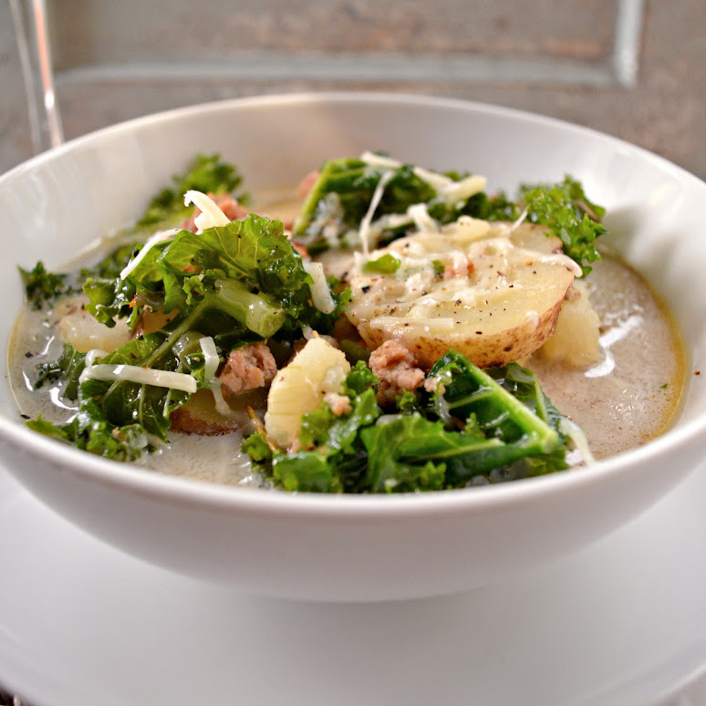 Sausage Kale And Potato Soup Serena Bakes Simply From Scratch