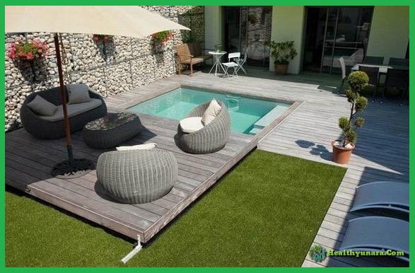 6 Design Mini Pool Decoration For Home Backyard