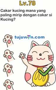 Level 78 : Cakar Kucing Mana Yang Paling Mirip Dengan Cakar Si Kucing Brain Out
