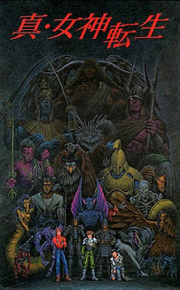 Carátula de Shin Megami Tensei, SNES, 1992, Atlus