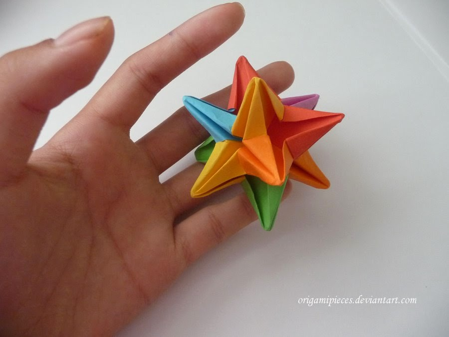 How to Make a Paper Ninja Star (Shuriken) - Origami - YouTube | 675x900
