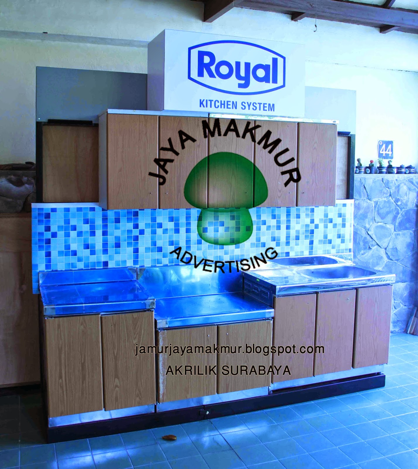 ACRYLIC (jaya makmur) AKRILIK : Display Rangka Rack Dapur Kitchen ...
