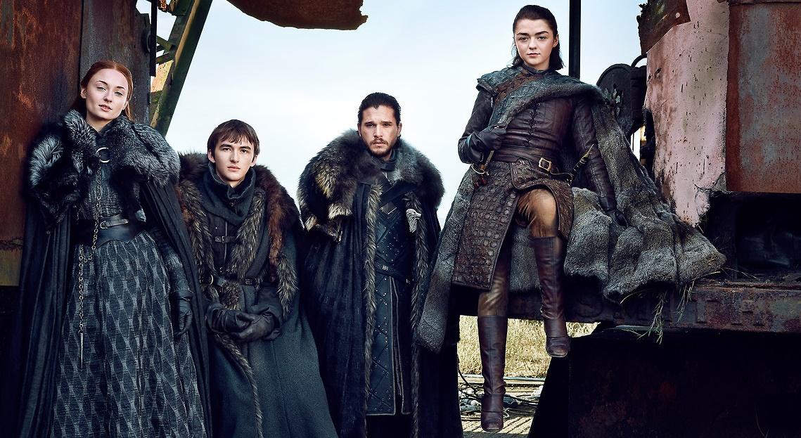 Game of Thrones | Família Stark sendo destaque na revista EW em novas imagens