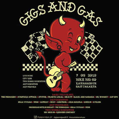 Anak Kustom Kulture yuk Ngumpul di Gigs and Gas 2019