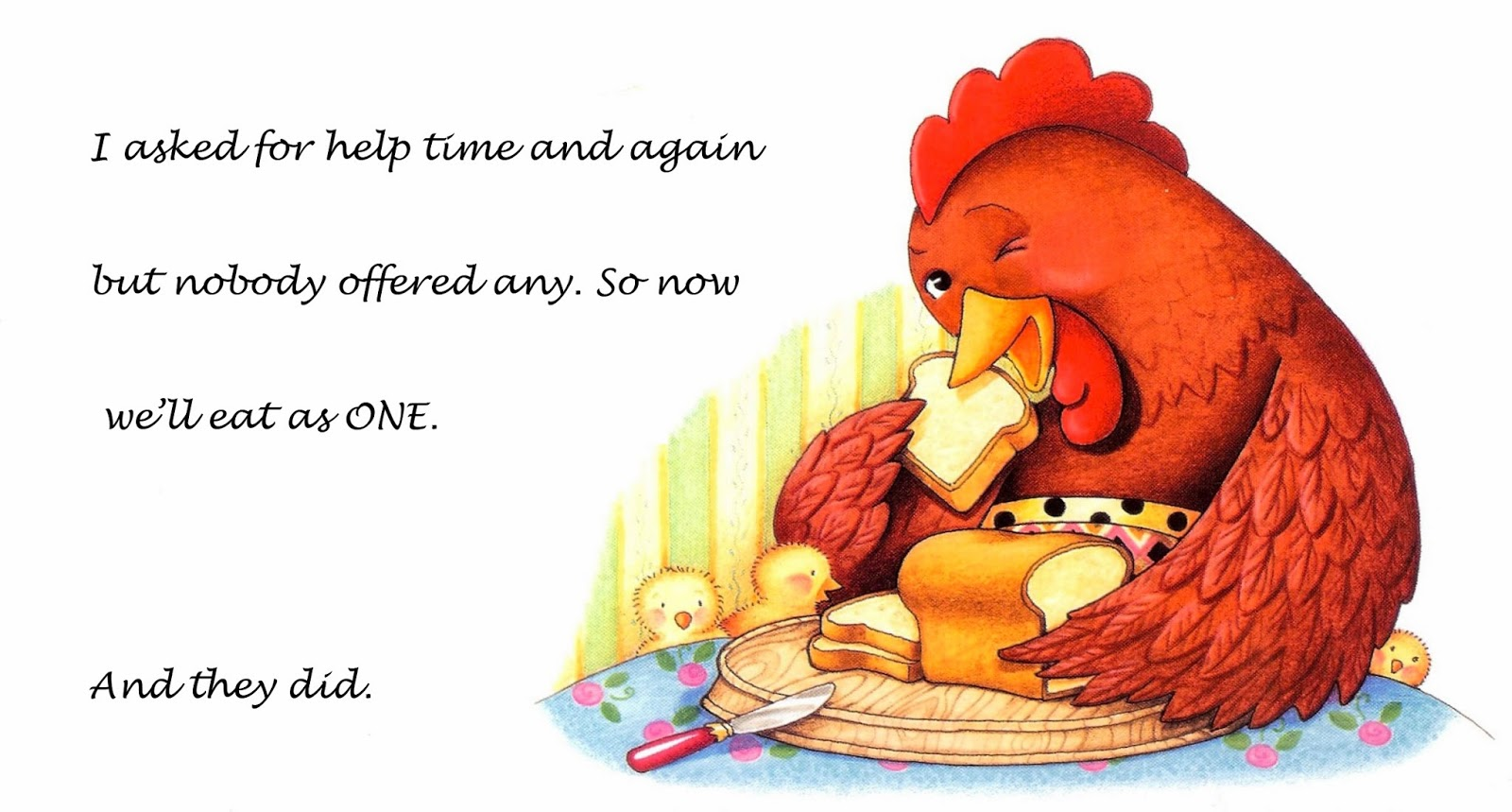 Dharma Space: The Little Red Hen, Redux