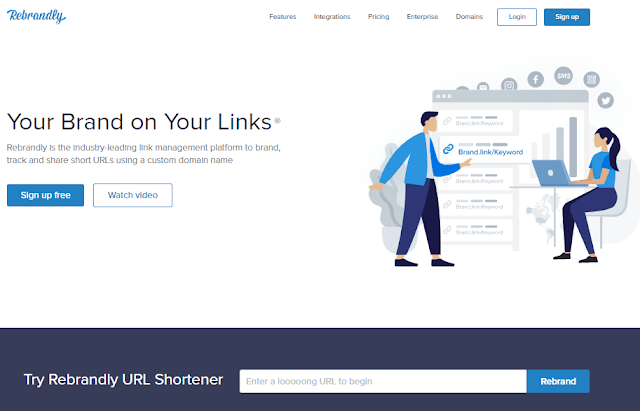 Rebrandly URL Shortener