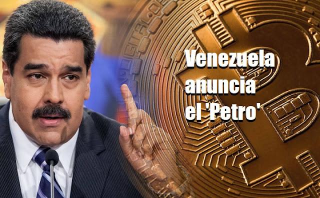Venezuela anuncia El Petro