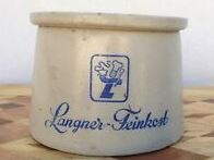 Mustard pot from Langner-Feinkost (from eBay)