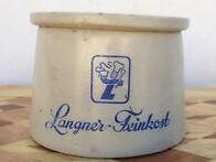 Mustard pot from Langner-Feinkost (from eBay)