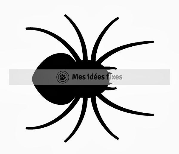 Mes idées fixes se lance un défi : un dessin par jour pendant un an: Jour 202 : Araignée