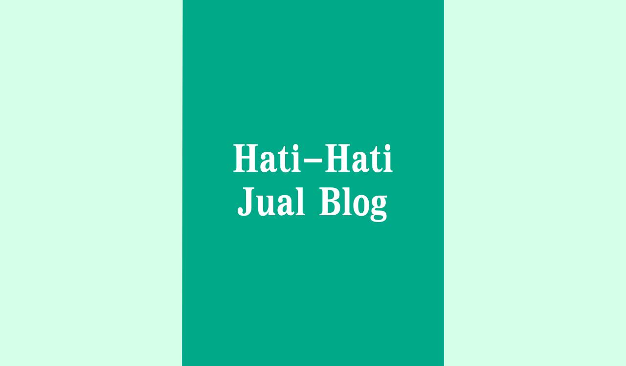 menjual blog secara online