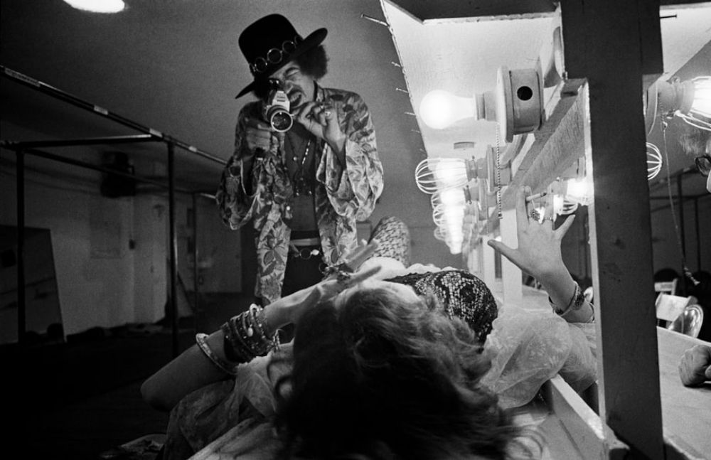 Just Hanging Out With Janis Joplin And Jimi Hendrix 1968