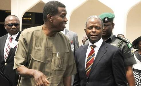 Don't be fazed by gang-ups against you, Adeboye tells Osinbajo