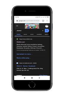 Cara mengaktifkan mode gelap untuk Google Chrome di Android ,windows 10 dan macOs