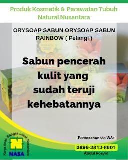 Orysoap Sabun Rainbow (Pelangi)  100Gram