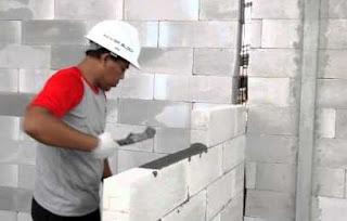 Hitung Kebutuhan Semen Mortar Perekat Hebel Per M2 - seo satria