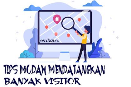 Tips Pemula Blogger untuk Mendatangkan Banyak Visitor