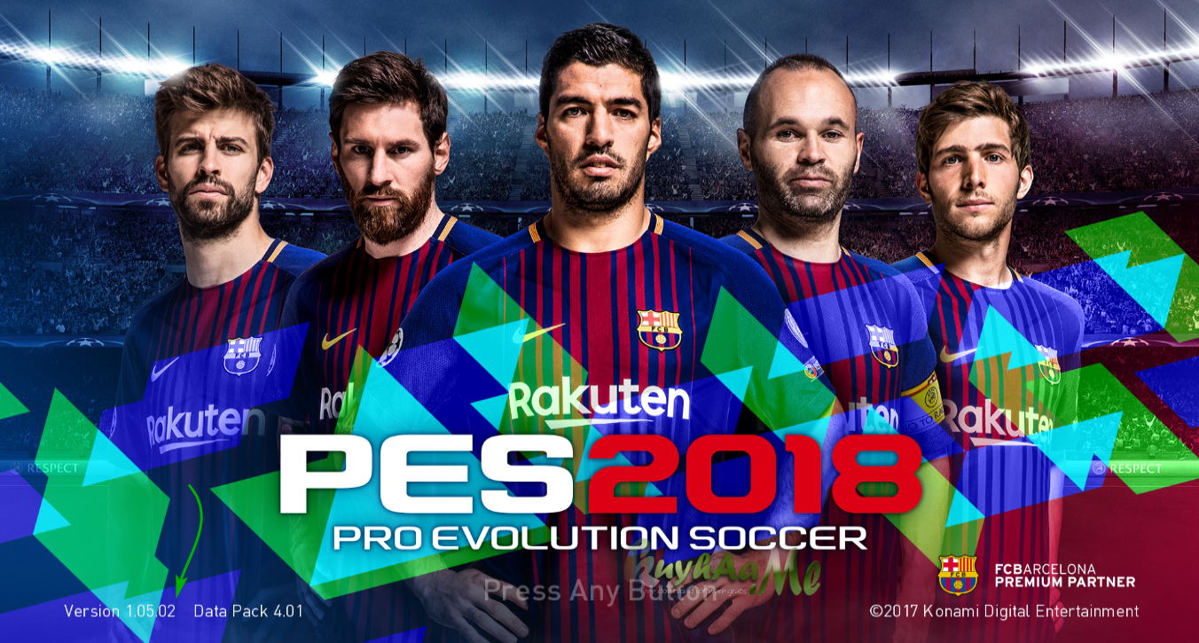 Jamu Crack PES 2018 Patch