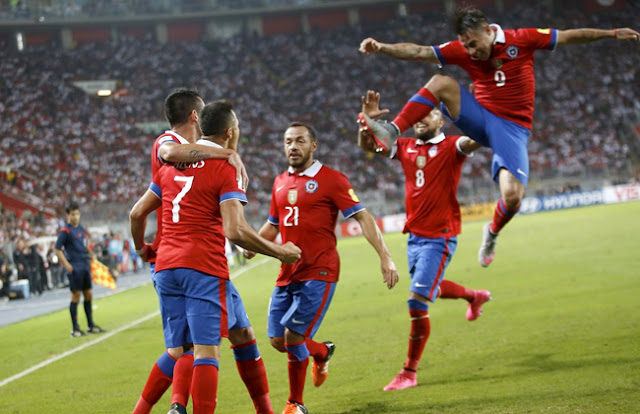 تشكيل منتخب تشيلي كوبا امريكا2019 بدون تقطيع
