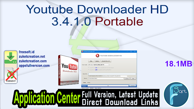 Youtube Downloader HD 3.4.1.0 Portable