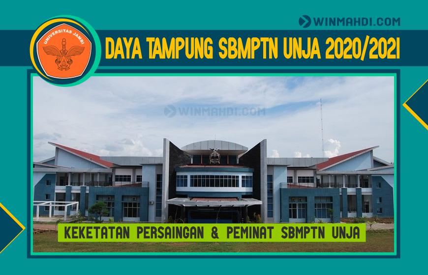 DAYA TAMPUNG SBMPTN UNJA 2020-2021
