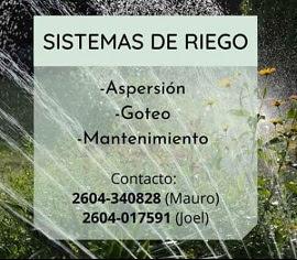 SISTEMAS DE RIEGO