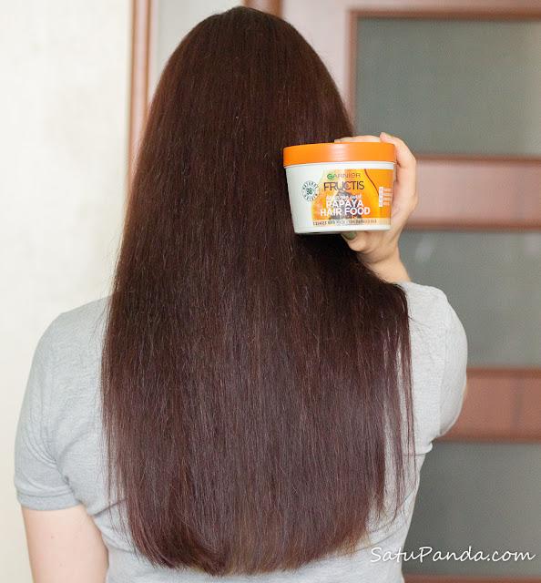 Garnier Fructis Papaya Hair Food бюджетный уход за волосами