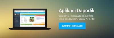 Download Aplikasi Dapodik Versi 2016 Paling Baru