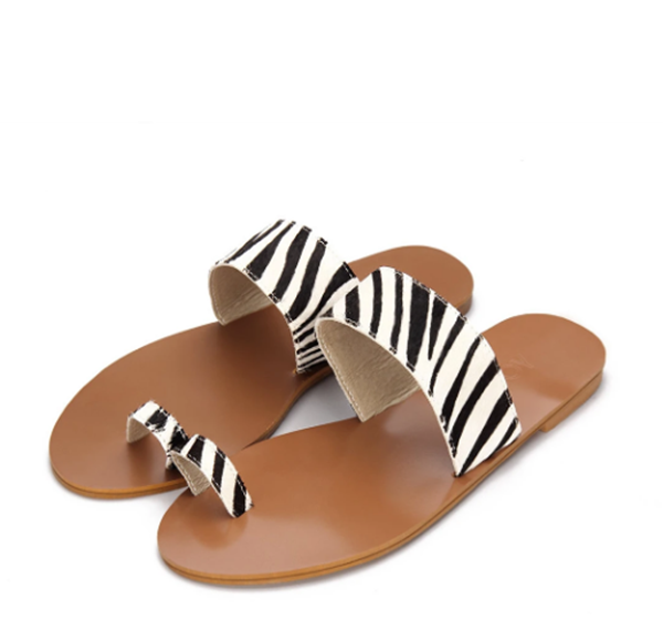 sandali zebrati