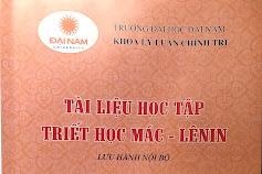 Tài liệu học tập Triết học Mác - Lênin - Trường Đại học Đại Nam
